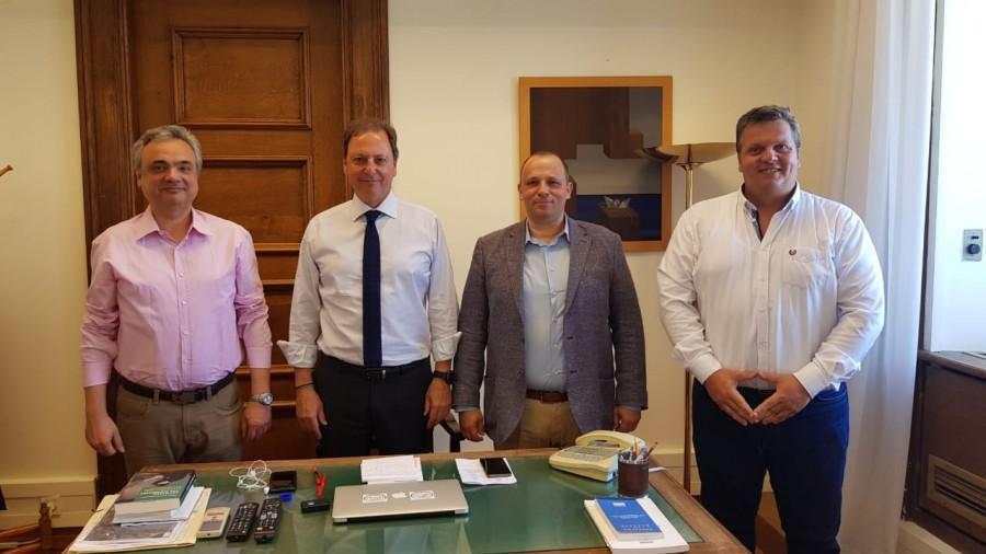 Συνάντηση ΠΟΜΕΝΣ με Κοινοβουλευτικό εκπρόσωπο της ΝΔ κ. Σπήλιο Λιβανό