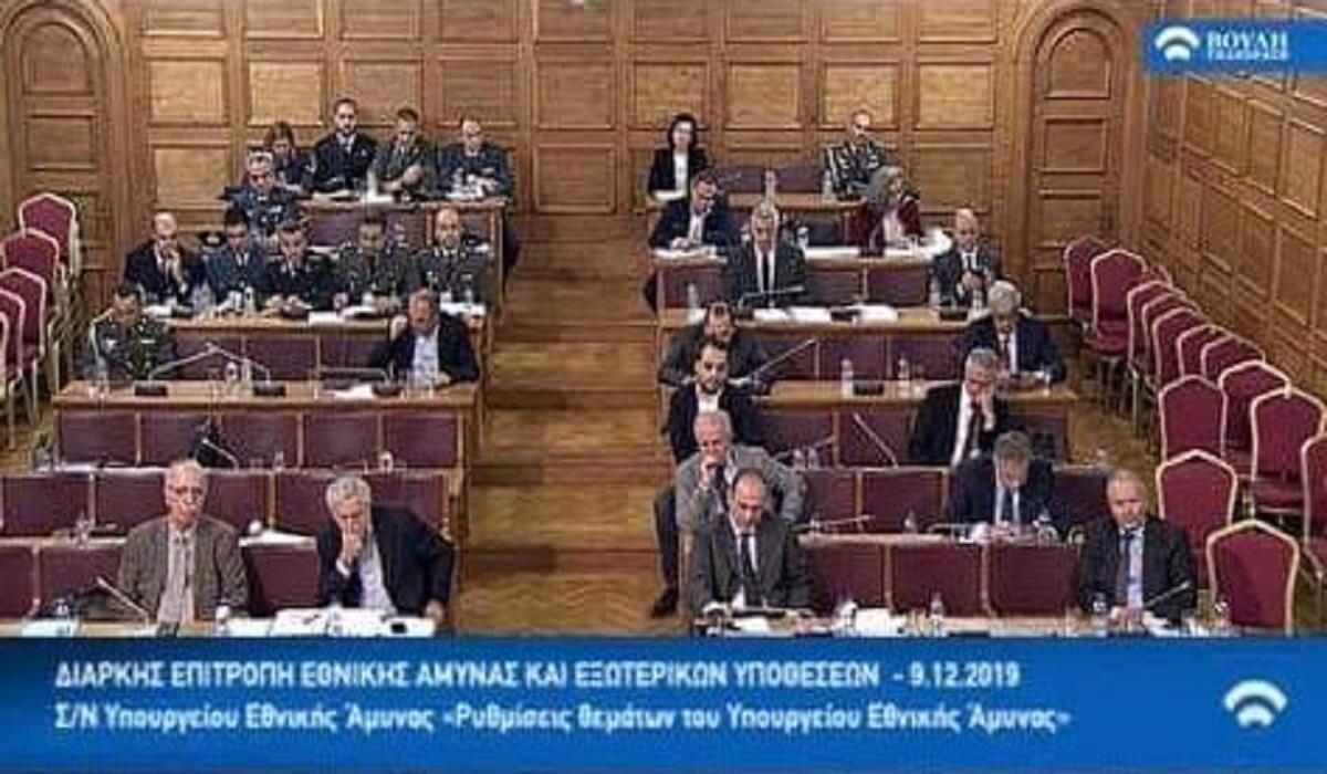 Η τοποθέτηση του προέδρου ΠΟΜΕΝΣ στη Βουλή