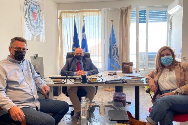 ΠΟΜΕΝΣ : Συνάντηση ουσίας και προοπτικής με τον Ευρωβουλευτή του ΣΥΡΙΖΑ κ. Κώστα Αρβανίτη.