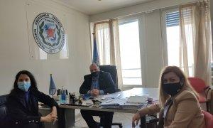 ΠΟΜΕΝΣ: :Επίσημη συνάντηση με την Κοινοβουλευτική Εκπρόσωπο ΜΕΡΑ 25 - Βουλευτή Β' Πειραιώς κ. Φωτεινή Μπακαδήμα.